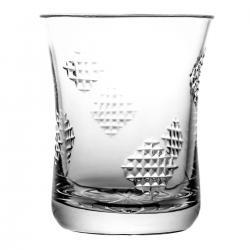 Szklanka do soku kryształowa łatki 06895