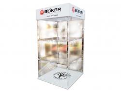 Witryna akrylowa Boker 70x35x35 cm
