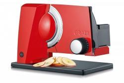 GRAEF SKS 11003 (Czerwona) Krajalnica elektryczna, kuchenna, uniwersalna, 45 W
