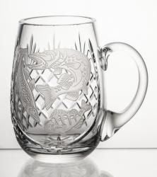 Kufel kryształowy z grawerunkiem (13905)