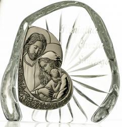 Skałka kryształowa Pamiątka Chrztu Świętego -4936-