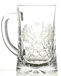Kufel grawerowany do piwa grawer orzeł Polska (05990)